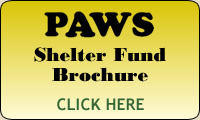 PAWS Shelter Fund Brochure